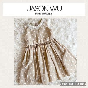 Jason Wu girls polka dots dress